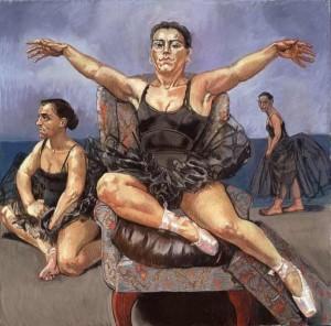 Dancing Ostriches, 1995, Paula Rego