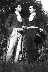 Nadir Afonso e Amândio Silva
