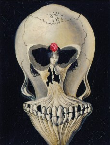 Salvador Dalí, Ballerina in a Death's Head , 1932