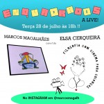 "Marcos Magalhães convida Elsa Cerqueira no ""Enquadrados A Live"""